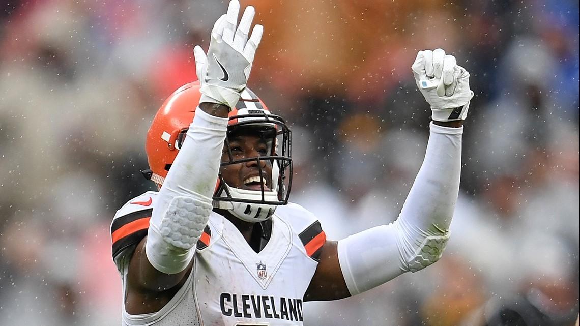 Cleveland Browns Db Denzel Ward Wins Pepsi Rookie