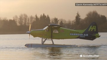 The first fully electric, commercial plane takes off