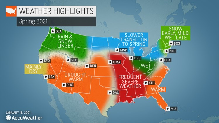 Meteorological spring has arrived: here's what to expect