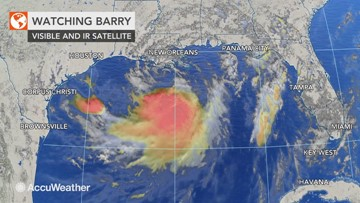 All eyes are on Barry as it inches closer to landfall