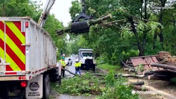 More than 30 tornadoes reported across central U.S.