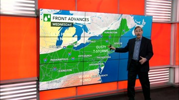 Travel Weather | Storms rumble through the East, then a big change is coming