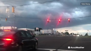 Ominous clouds loom over Harrisburg