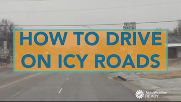 How to drive on ice