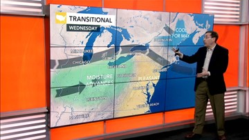 Weather across the nation on May 22, 2019