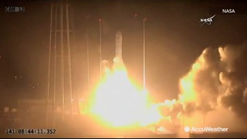 Bad weather causes NASA to reschedule rocket launch