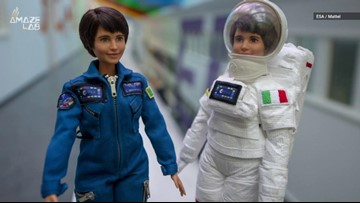 Barbie Launches Doll of Astronaut Samantha Cristoforetti to Inspire Young Girls
