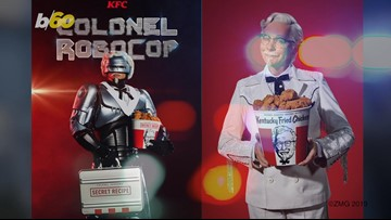 KFC Enlists Colonel RoboCop to Protect Secret Recipe from Thieves