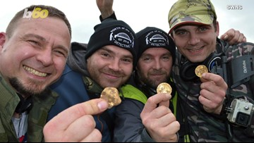Buried Treasure! Amateur Metal Detectorists Find Over 500 Coins from the 14th Century