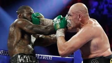 Tyson Fury beats Deontay Wilder to reclaim the heavyweight title