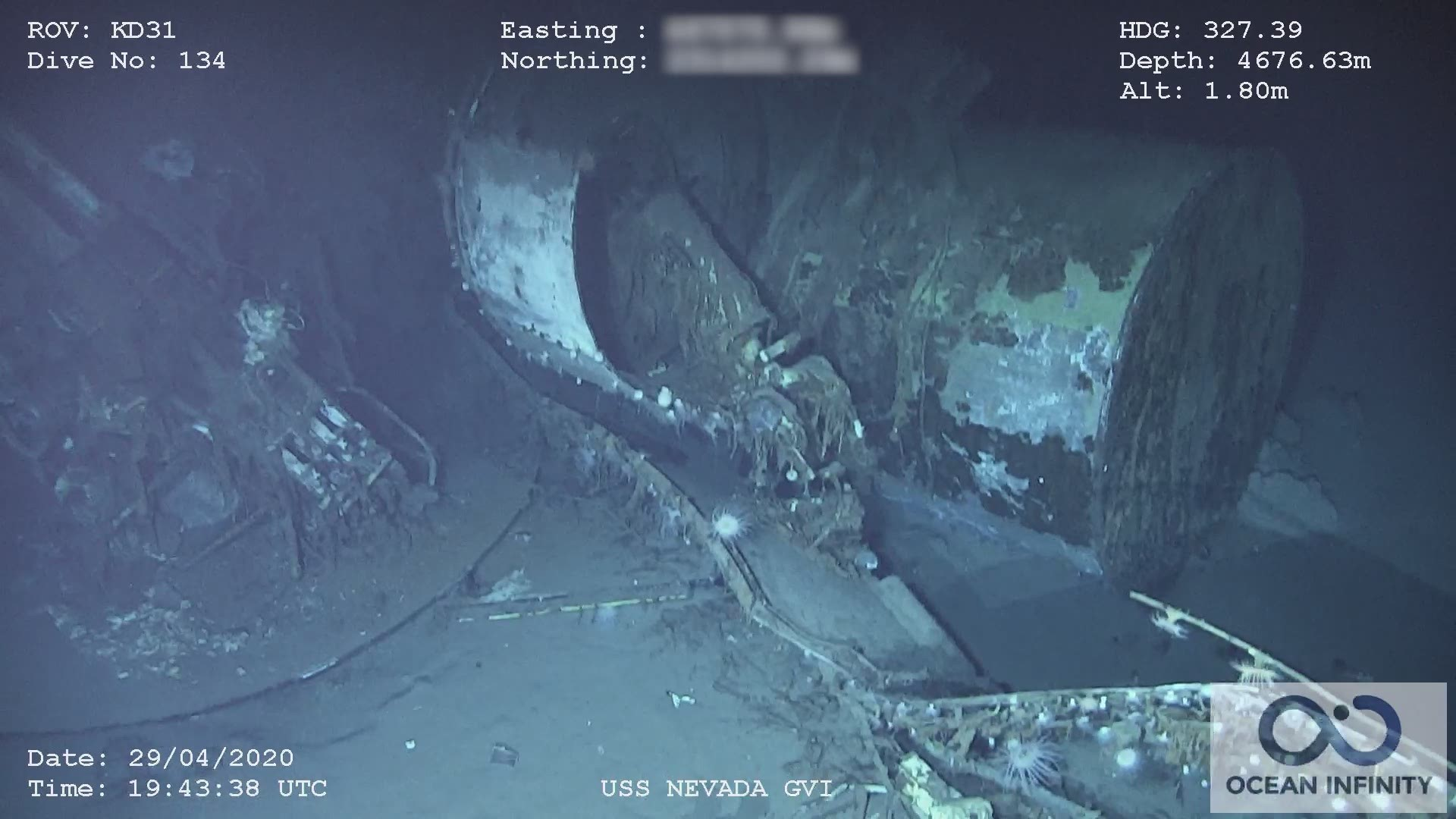 Uss Nevada That Survived Pearl Harbor And Wwi Found In Pacific Wkyc Com