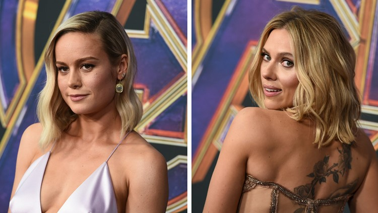 Brie Larson Scarlett Johansson