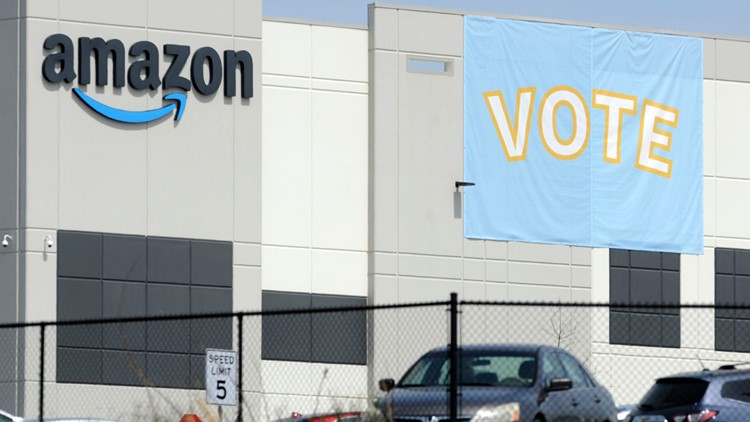 Labor group accuses Amazon of illegally interfering with union vote