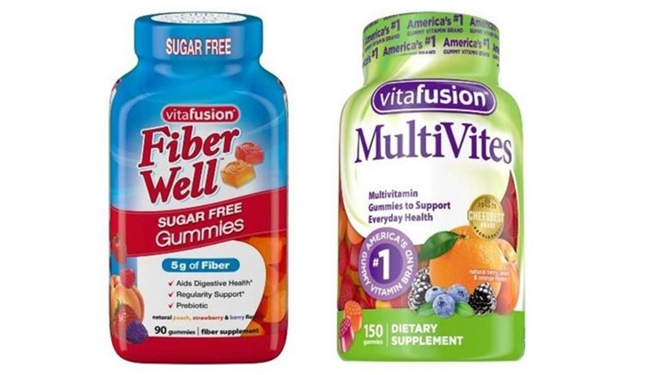 Gummy vitamins recalled for metal mesh