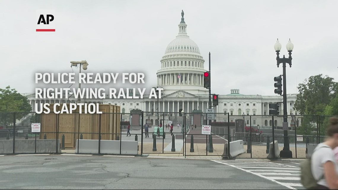 Police say they're ready for rally supporting Jan. 6 rioters