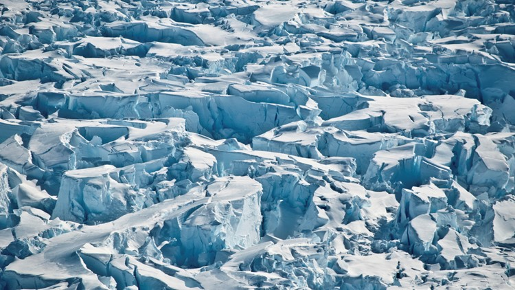 Ice shelf protecting critical Antarctic glacier is breaking up faster