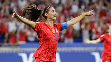 US reaches Women's World Cup Final by holding off England, 2-1