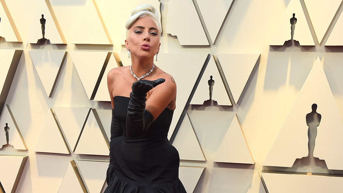 Image result for Lady Gaga Lady Gaga blows a kiss