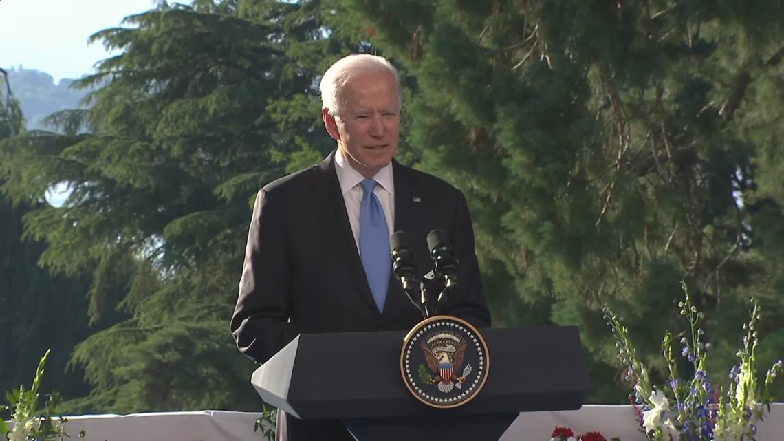 Biden on accusations Russia responsible for disruptions like SolarWinds, after talk with Putin