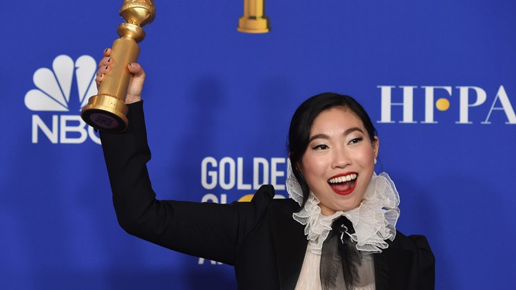 Awkwafina 77th Annual Golden Globe Awards - Press Room