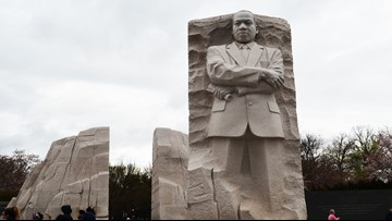 'Out of a mountain of despair, a stone of hope'   MLK Memorial brings famous speech to life