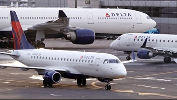 Delta reduces flights to South Korea over coronavirus concerns