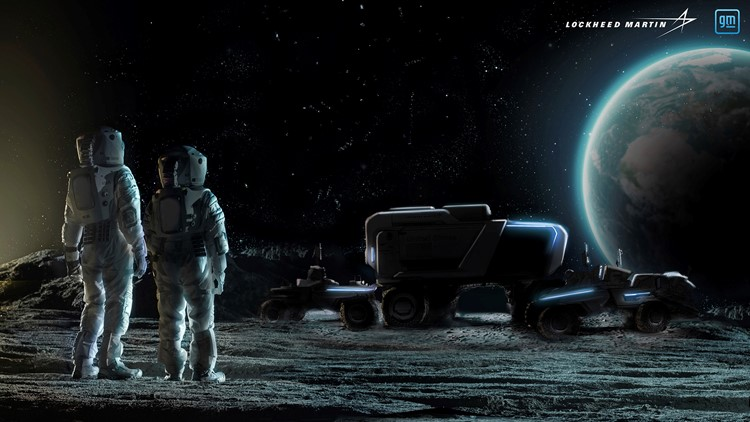 GM developing self-driving, electric rover for the moon