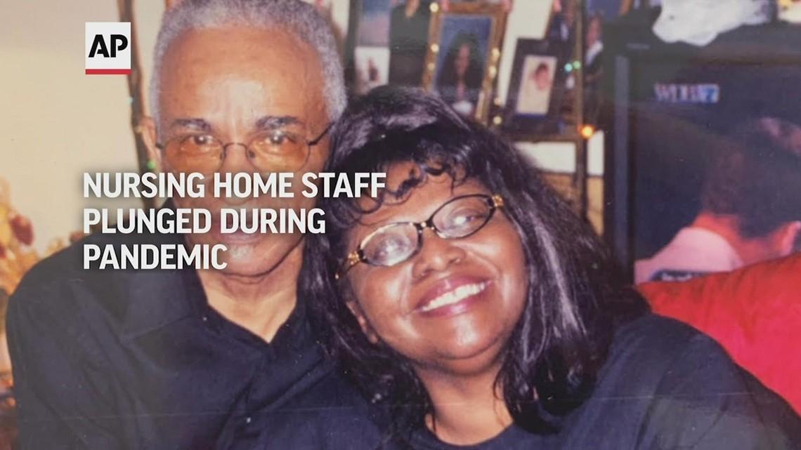 Nursing home staff plunged during pandemic