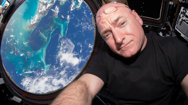 Scott Kelly astronaut July 2015