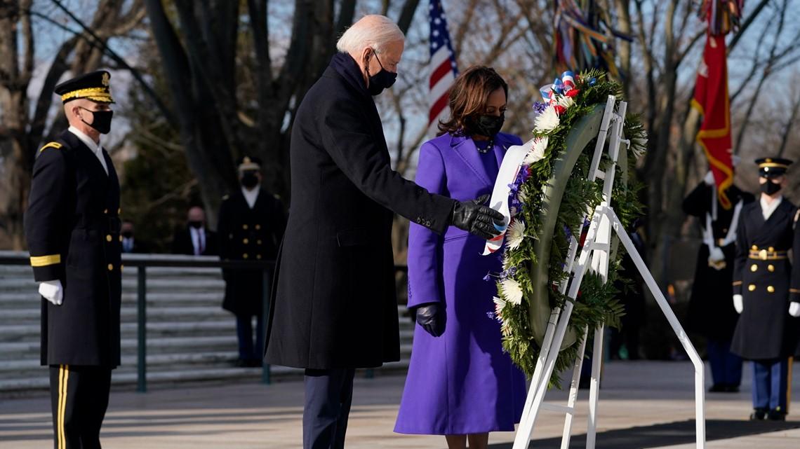 Local Democratic and Republican leaders react to Joe Biden and Kamala Harris' inauguration