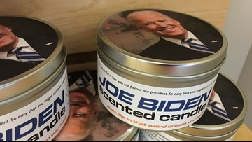 Joe Biden scented candles are so popular at this museum, they always run out