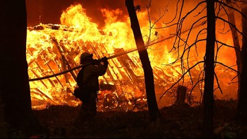 Northern California wildfire death toll at 56; 130 missing