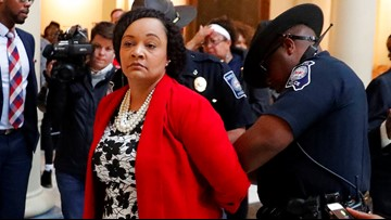 Georgia state senator among protesters arrested at Capitol rotunda