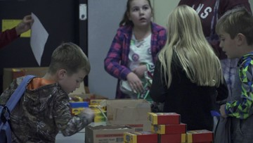 School opens doors to wildfire victims so kids can be kids