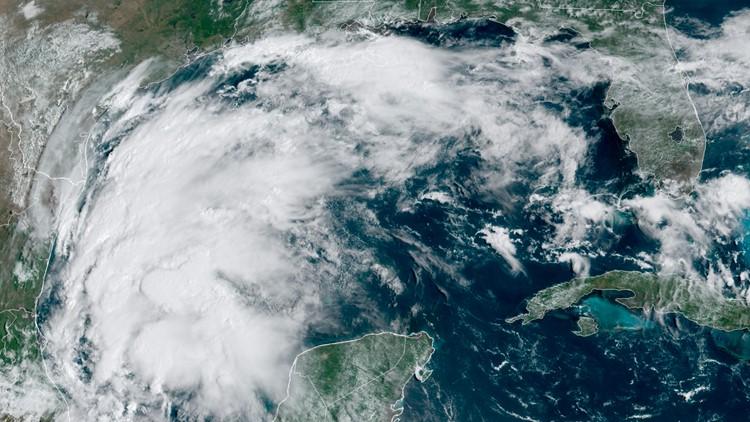 Tropical Storm Nicholas threatens Gulf Coast with heavy rain