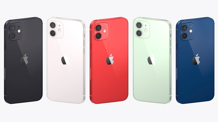 Apple Unveils Four New Iphone For Faster 5g Wireless Networks Wkyc Com