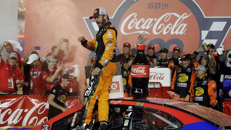 Martin Truex Jr. wins Coca-Cola 600 at Charlotte Motor Speedway