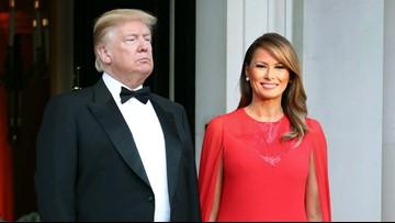 President Trump puts 'Melania T' on similar footing to 'Jackie O'