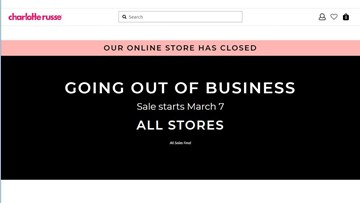 Charlotte Russe 'going out of business,' closing all its