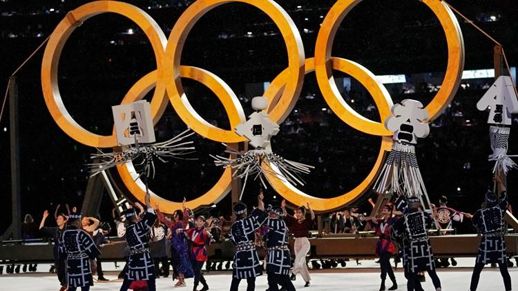 PHOTOS: Tokyo Olympics Opening Ceremony