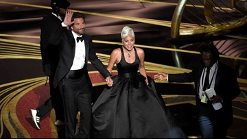 Lady Gaga and Bradley Cooper got two standing ovations at The Oscars