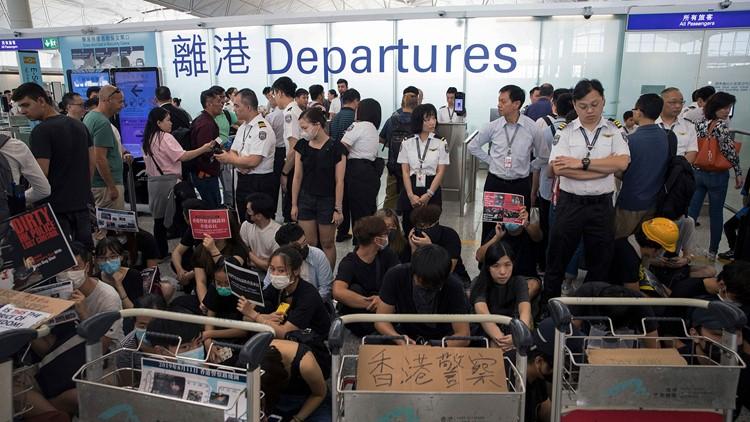 Hong Kong protests AP