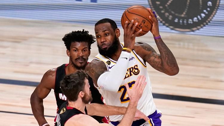 Bubble Kings: LeBron James & Los Angeles Lakers run past Miami Heat for 17th NBA championship