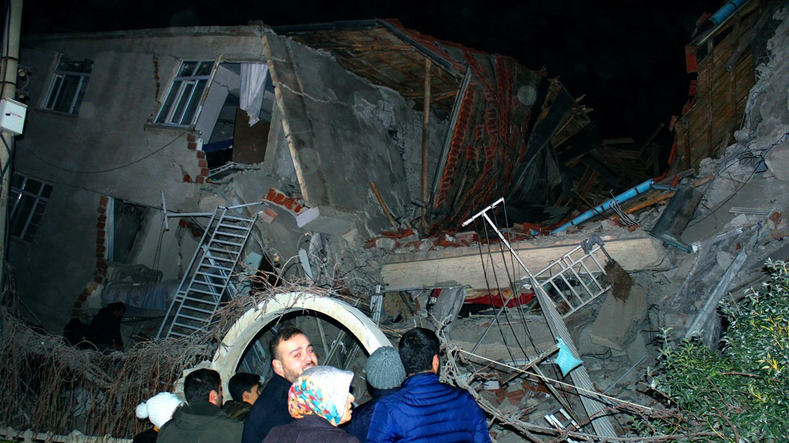 At least 18 dead, hundreds hurt as magnitude 6.8 earthquake rocks Turkey