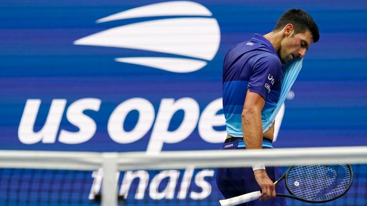 Medvedev ends Djokovic's bid for year Slam at US Open