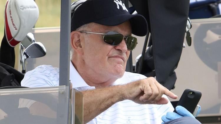 Hank's Yanks 1st Annual Golf Classic Rudy Giuliani