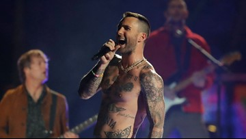 Complaints about shirtless Adam Levine flooded FCC after Super Bowl halftime show: List of complaints released