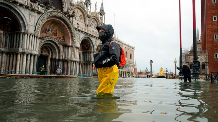 Even locals are shocked at how bad Venice flooding has become