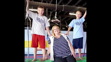 Mom creates gym for kids with special needs