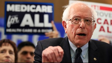 Sanders relaunches 'Medicare for All' plan with Dems divided